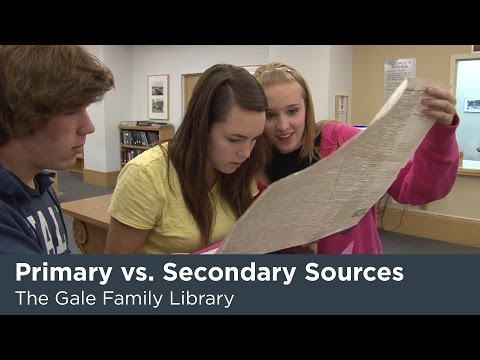 Five Activities for Teaching and Learning With Primary Sources