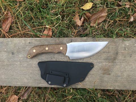 Hunting / Skinning Knife Made From AEB-L Stainless Steel