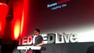 """Amateur Tranplants: Dr. Suman Biswas """"The Anaesthetist's Hymn"""" Live at TEDMED Imperial 2013"""