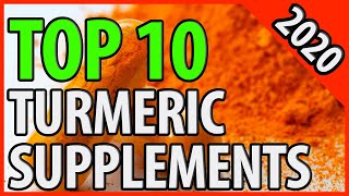 Best Turmeric Supplement 2020 | TOP 10 Turmeric Pills