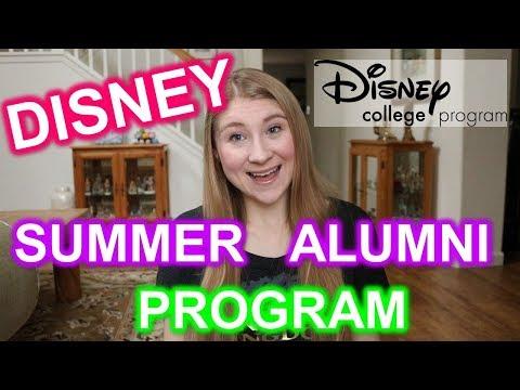 WHAT IS the DISNEY SUMMER ALUMNI PROGRAM?