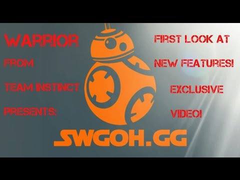 swgoh gg Update - Mod Management — Star Wars Galaxy of Heroes Forums