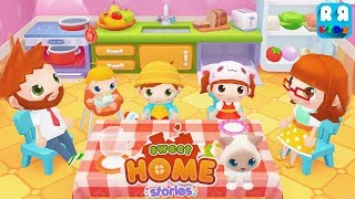 Sweet Home Stories - My family life play house (By PlayToddlers) - Best Apps for Kids