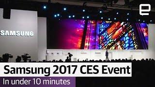 Samsung 2017 CES Event Supercut