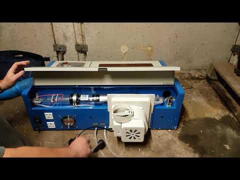 K40 eBay Chinese CO2 Laser Cutter & Engraver - UnBoxing New 40 Watt