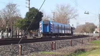 preview picture of video 'GR12 6632 rumbo a Haedo en cercanías de Padua (03-07-2013)'
