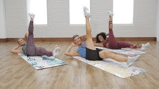 5-Minute Flat Belly Abs Workout with Jake DuPree by POPSUGAR Fitness