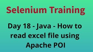 Java - How to read excel file using Apache POI