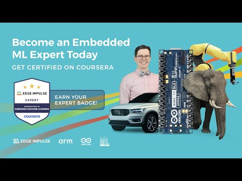 Introduction to Embedded Machine Learning on Coursera - YouTube
