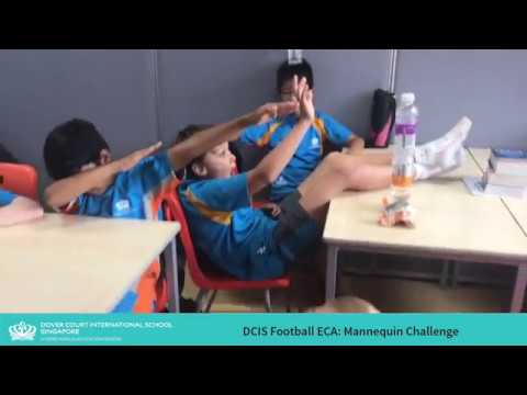Year 5/6 Football ECA Takes Mannequin Challenge