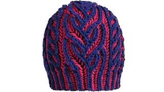 Brioche Knitting *Interweave Hat* Knitting Patterns