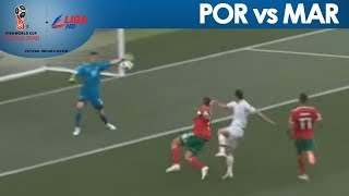 2018 FIFA: Goncalo Guedes nearly scores for Portugal off the nice Ronaldo pass