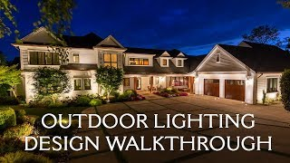 Outdoor Landscape Lighting Design Walkthrough | Oregon Outdoor Lighting