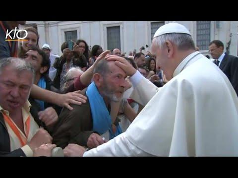 Le pèlerinage des sans-abris à Rome