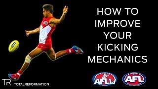 AFL How To Improve Your Kicking Mechanics