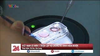 Việt Nam Có Hơn 1 Triệu Cặp Vợ Chồng Vô Sinh Hiếm Muộn | VTV24