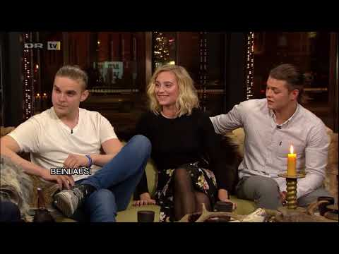 Interview Aftenshowet (Alex Hogh Andersen, Ida Marie Nielsen and Marco Ilso from Vikings)