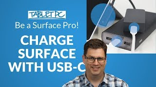 How to charge your Surface with a USB-C Cable