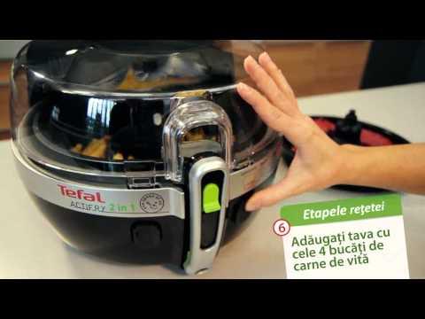 Friteuza Tefal Actifry 2 in 1: Friptura cu cartofi prajiti