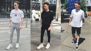 Mens Streetwear Lookbook [NEW Spring/Summer 2021] 4 Outfits For Men