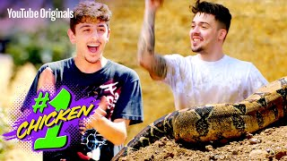 One-on-One In a Mud Pit Filled with Snakes   #1 Chicken