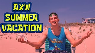 BEACH BUMS SUMMER VACATION W/ AL SNOW AT AXW