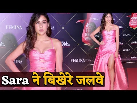 Sara Ali Khan ने Pink Gown में बिखेरी अपनी अदा, अच्छे अच्छों की आंखे फटी रह गई