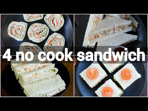 , title : 'no cook sandwich recipes | kids tiffin box sandwich recipes | creamy sandwich recipes'