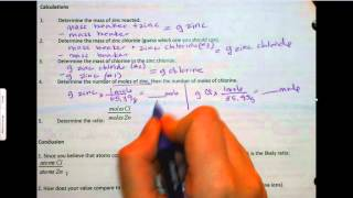 8 5 Empirical Formula Lab Calculations And Conclusion