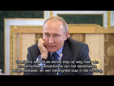 Poetin waarschuwt het westen (Nederlandse ondertiteling)