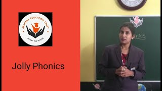 Jolly Phonics introduction with Action/ Rhymes | Letter Sounds | Phonics Group | Online Teaching - WITH