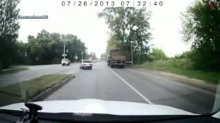 Подборка Аварий И ДТП Июль 8) 2013 Car Crash Compilation July 18+