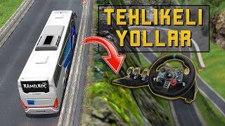 Otobüs İle Tehlikeli Yolardayız !!