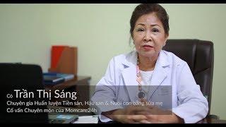 Momcare24h | Chuyên gia Tiền & Hậu sản Trần Thị Sáng