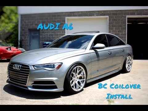 Audi A6 Coilover Install