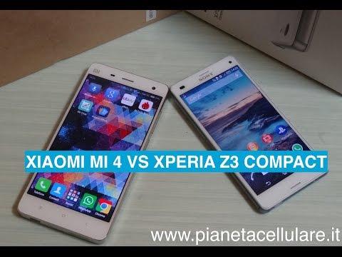 Foto Xiaomi Mi4 vs Sony XPeria Z3 Compact
