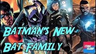 Batman's New Bat Family
