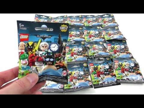 71020 The LEGO Batman Movie Minifiguren Serie 2 - 20 Pack Opening