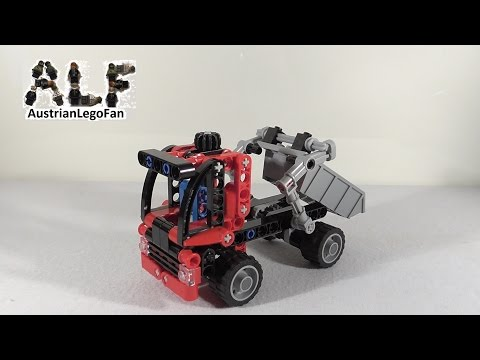 Vidéo LEGO Technic 8065 : Le mini camion-benne