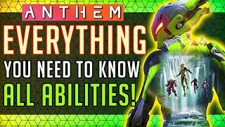 Anthem | Interceptor: Everything You NEED to Know! All Abilities In-depth Look! #Anthem