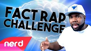 VIDEO GAMES &  MUSIC! (JT Music's Fact Rap Challenge) | #Nerdout [Prod by Caliber Beats]