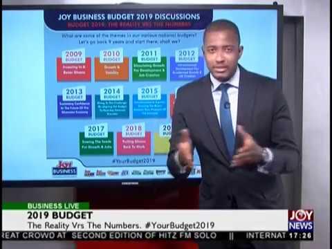 2019 Budget - Business Live on JoyNews (12-11-18)
