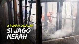 Dua Rumah di Purwosari Dilalap Si Jago Merah, Diduga karena Gas dan Konsleting Listrik