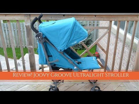 Review! 2017 Joovy Groove Ultralight Travel Stroller