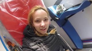 Меня увезли на скорой...  Больницы Крыма как есть. Положили в больницу с...