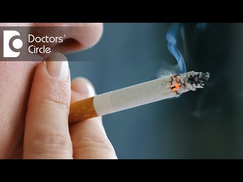 Video What is the relationship between smoking and Heart Disease? - Dr. Anand Lingan