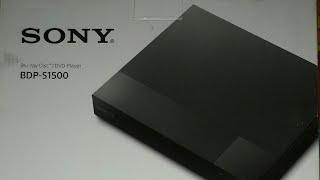 SONY Blu-ray Disc/DVD Player | BDP-S1500