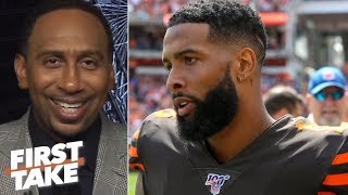 Stephen A. isn't fazed by OBJ's watch: We've seen everything but winning! | First Take