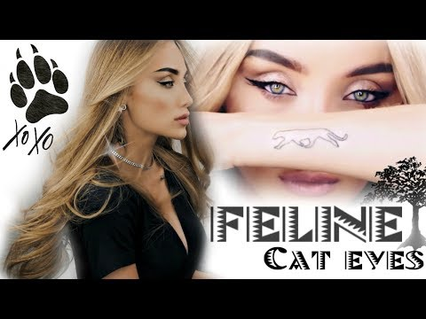 The Feline Flick | Simple Cat Eye Makeup GRWM | TheBlackPanther