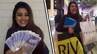 I Gave My Sister One Hour To Spend £500
